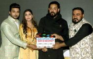 Sapna Choudhary, Vikrant Anand, Zuber K Khan and Anju Jadhav came at mahurat of their film Dosti Ke Side Effect directed by Hadi Ali Abrar