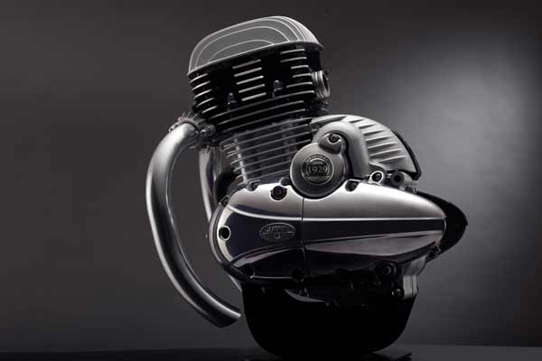 Classic Legends unveils the engine of the iconic new JAWA motorcycles