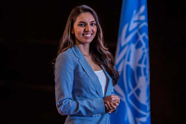 MANASI KIRLOSKAR APPOINTED FIRST UN IN INDIA YOUNG BUSINESS CHAMPION FOR THE SDGS