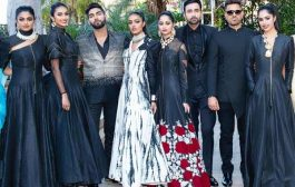 DESIGNER ROHIT VERMA WHO HAS ALWAYS SURPRISED PEOPLE WITH HIS CREATIVE & UNIQUE COLLECTIONS WRAPPED UP THE LA INDIA FASHION WEEK