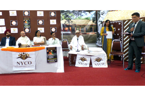 NYCO (Natraj Youth and Cultural Organization) celebrates 150th birthday of Mahatma Gandhi at the Radha Krishna Temple, in Toronto, Canada