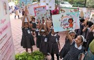 Children rally for animals on World Animals Day Today in Pune