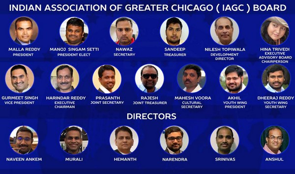 Malla Reddy Bokka, President-Elect & Founder,  Indian Association of Greater Chicago