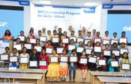 SKF India's Scholarship Program for Girls-UDAAN continues to change lives for forty meritorious girls in its second year