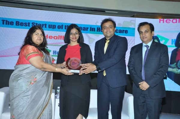HealthFin adjudged as the Best Start up in healthcare sector