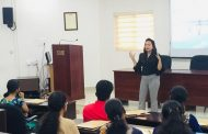 Criminal Psychologist Anuja Kapur attended Youth Leadership Workshop at XIME Kochi