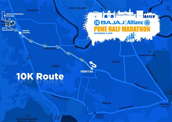 With 'wellness' as its central theme, the inaugural Bajaj Allianz Pune Half Marathon is all set to be held on December 9, 2018 (Sunday)