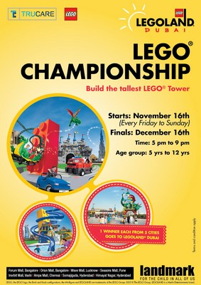 Landmark returns with its Annual Lego Challenge