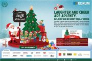 This season visit KORUM for the joyful Christmas celebrations