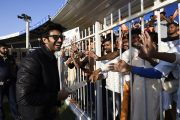 DOWNPOUR OF CELEBRITIES AT T10 CRICKET LEAGUE