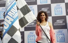 Sanya Malhotra flags-off the ninth edition of Skechers Performance Goa River Marathon