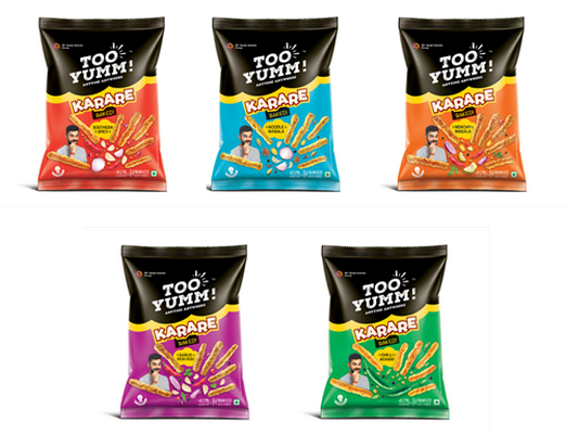 TOO YUMM LAUNCHES ITS LATEST SUPER TASTY AND HEALTHY SNACK – KARARE
