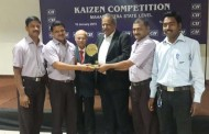 CII's recognition to KEPL for KAIZEN Practices