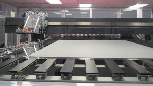 Mass production of large-screen OLED displays could be possible through Inkjet-printing system