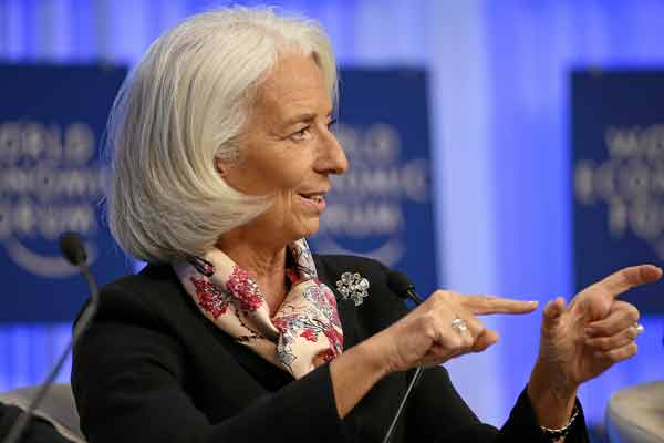 IMF Managing Director Christine Lagarde congratulates Winners of Youth Video contest