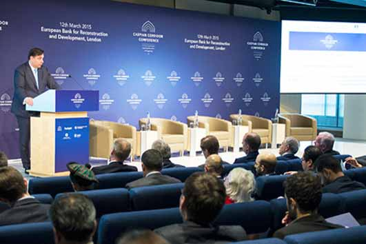 Caspian region has crucial role to play in energy, trade, agriculture
