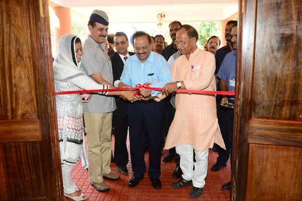 Dr. Harsh Vardhan inaugurates Geophysical Observatory at Shoal Bay in Port Blair