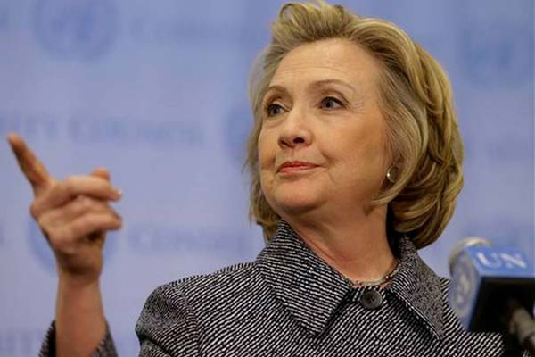 Hillary interviewed by FBI about State Dept emails: Spokesman