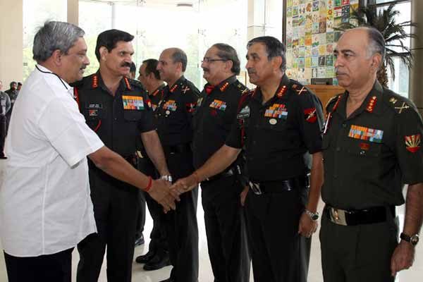 Defence minister addresses Army Commanders' Conference in New Delhi