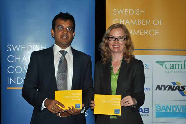 Swedish Chamber of Commerce India launches the Business Climate Survey 2014/15