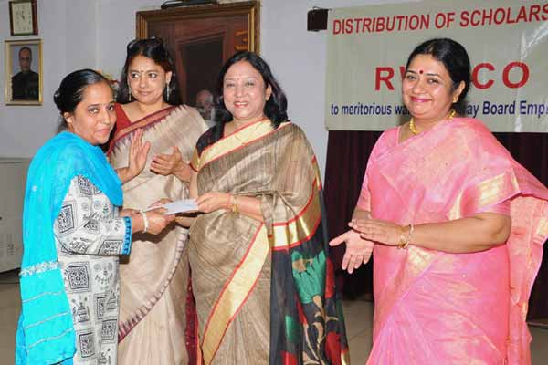 Distribution of Scholarships by RWWCO
