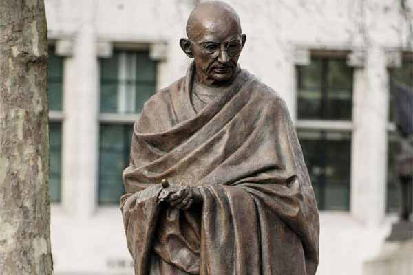 Statue of Mahatma Gandhi defaced in South Africa