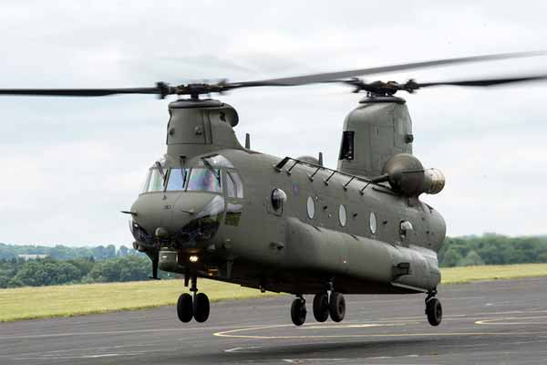 UK government deploys Chinook helicopters to Nepal