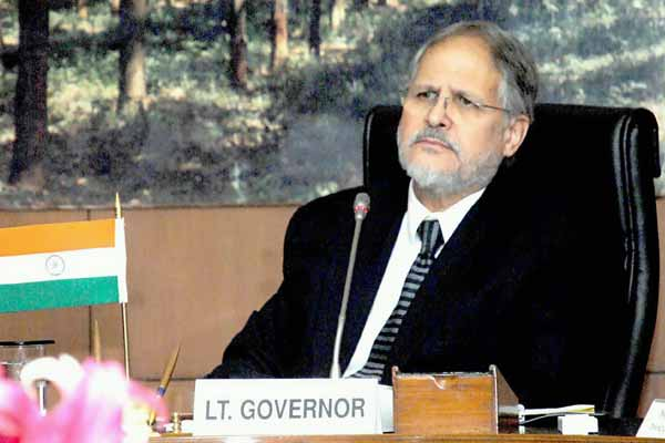 Lieutenant Governor Najeeb Jung rejects transfer of Delhi Home Secretary by AAP gov