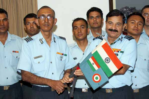 Indian Air Force (IAF) Kunzang Mountaineering Team Returns Back after a successful Expedition