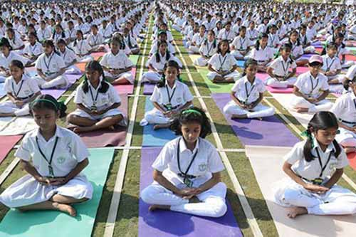 Revised circular of CBSE makes yoga day participation voluntary