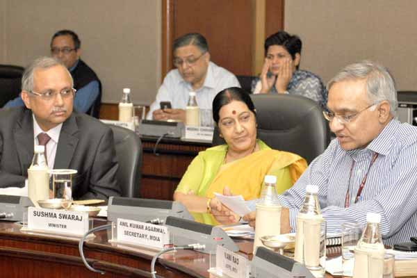 Anil Kumar Agarwal Secretary Ministry of Overseas Indian Affairs chairs 14th Meeting of Governing Council of Overseas Indian Facilitation Centre