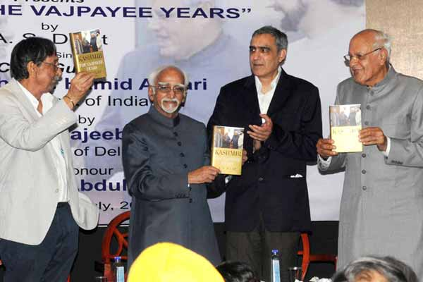 Vice President releases the book 'Kashmir the Vajpayee Years'