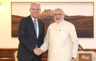 Bernhard Gerwert, CEO, Airbus Defence and Space, calls on PM
