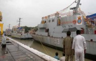 Three follow-on Water Jet Fast Attack Craft launched at GRSE Kolkata