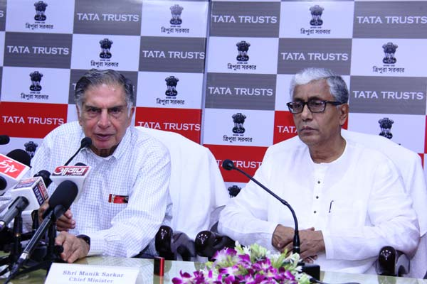 Government of Tripura and TATA TRUSTS sign MoU towards community development in Tripura
