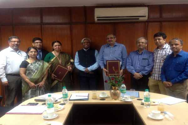 MoA Signing of DBT- Pan IIT Center for Bioenergy
