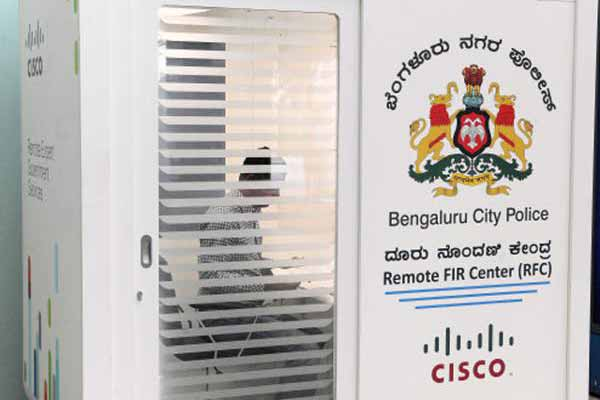 Citizens can file cases remotely in Bengaluru through FIR kiosk