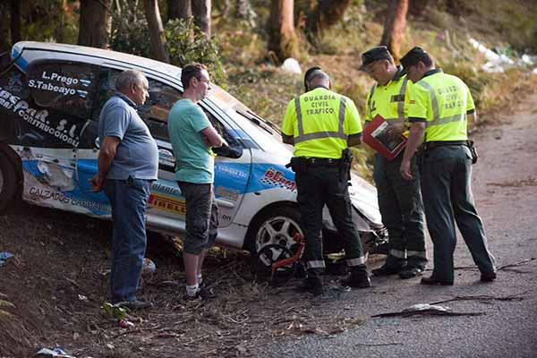 Rally car crashes into crowd in Spain: Six Killed
