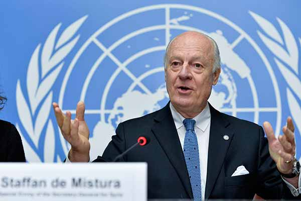 Syria: UN envoy to 'take stock' of peace talks by week's end