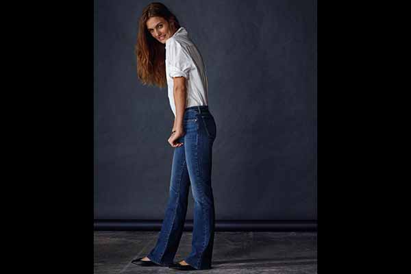 Don't dare to wear a Flare? Levi's® launches ultimate women's denim collection, lot 700