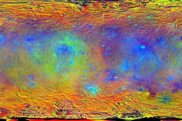 Dwarf planet Ceres; NASA's Dawn amazes scientists with new maps, insights