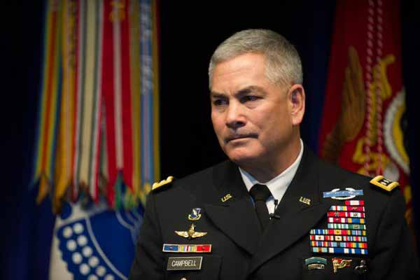 Top US Commander in Afghanistan makes visit to India