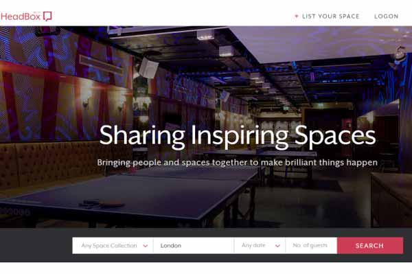 HeadBox: An online marketplace for 'Inspiring Spaces'