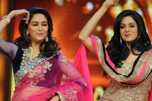 500th episode of Marathi show gets Madhuri Dixit and Sridevi performance