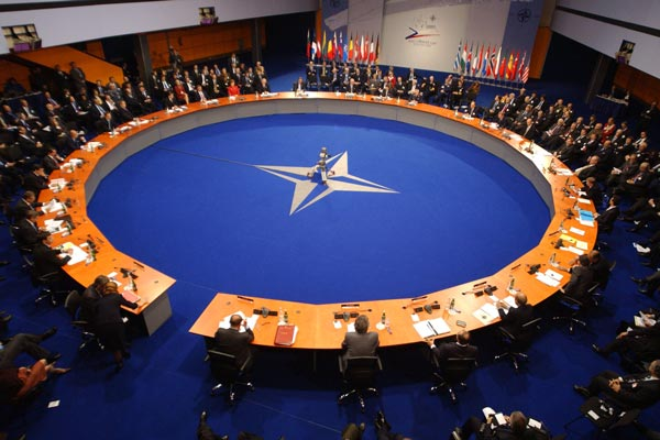 'We stand together' on Russia: NATO chief