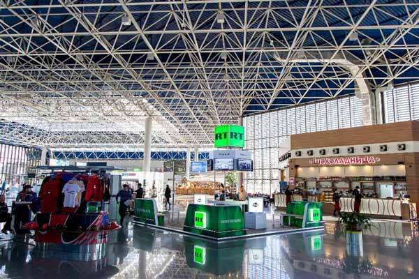 Sochi Airport prepares for Russian Grand Prix; to serve over 100,000 arriving and departing passengers