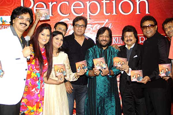 Celebs released ghazal album Perception at Alamode Banquets, Juhu