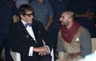 Bajirao Mastani: Amitabh Bachchan paid a surprise visit on the sets