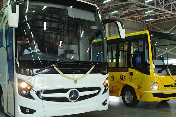 Daimler India starts selling BharatBenz buses