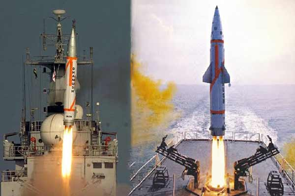 Dhanush missile: India test fires nuclear-capable missile